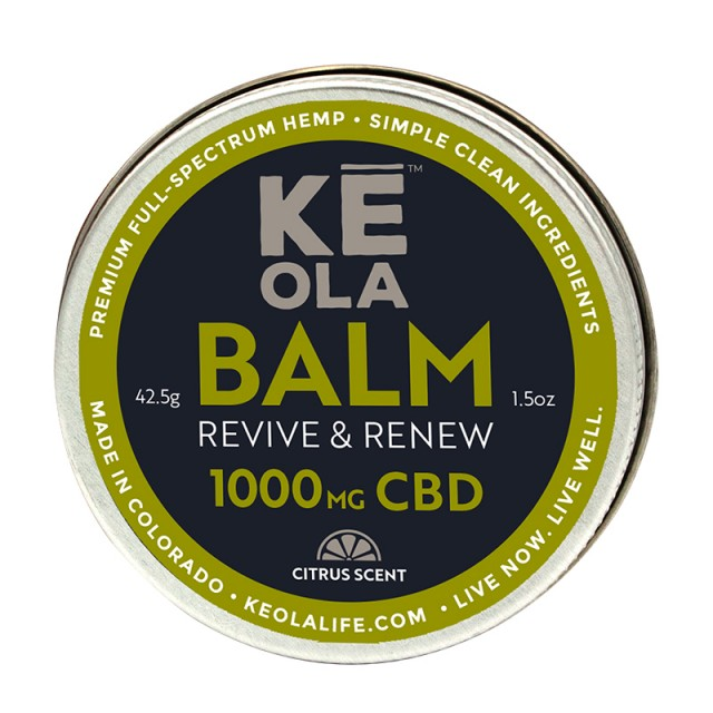 Soothing CBD Balm 1000mg - Citrus Scented product image