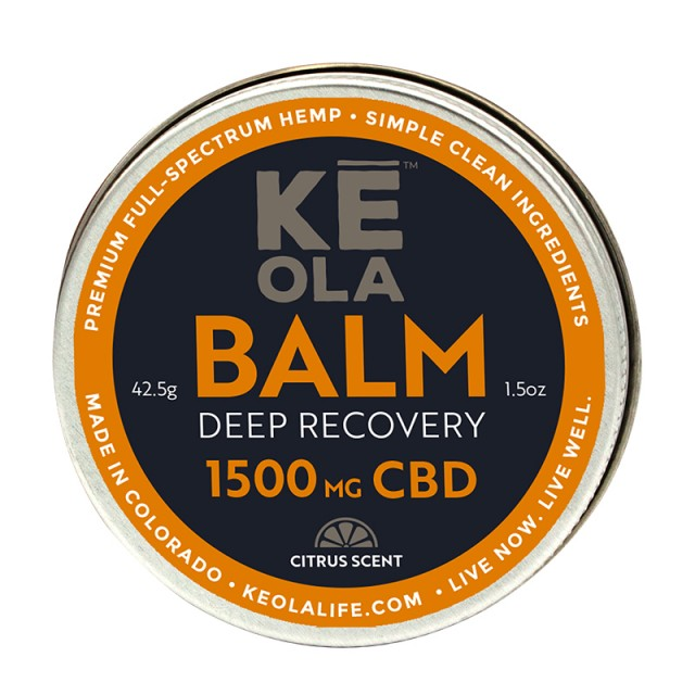 Soothing CBD Balm 1500mg - Citrus Scented product image