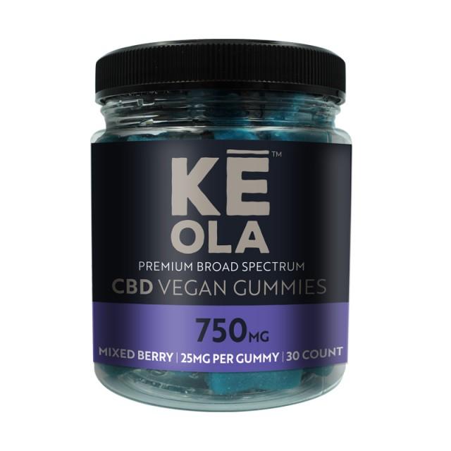 CBD Vegan Gummies - Mixed Berry - 25mg product image